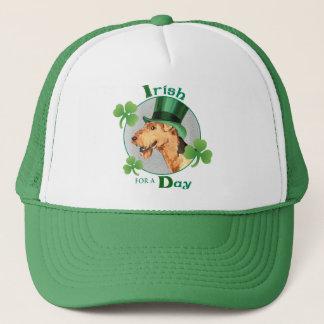 Boné O dia Airedale de St Patrick