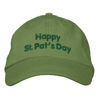 Boné O dia da pancadinha feliz do St. - chapéu do verde