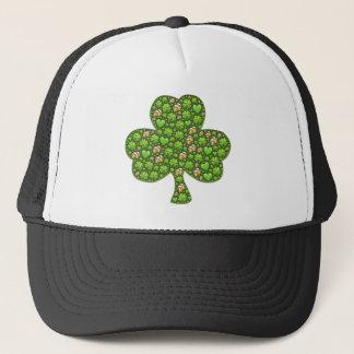 Boné O dia de St Patrick da cerveja do trevo do trevo,