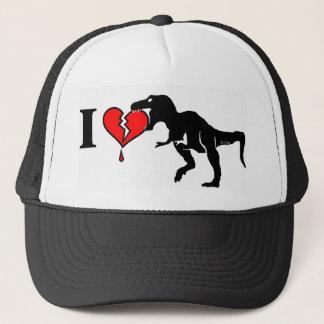 Boné O dinossauro come o coração