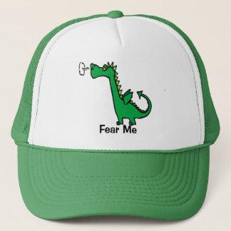 Boné O dragão dos desenhos animados teme-me