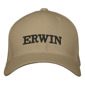 Boné O Erwin bordado