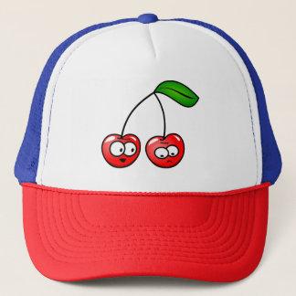 Boné O estilo da conversa da cereja do chapéu do