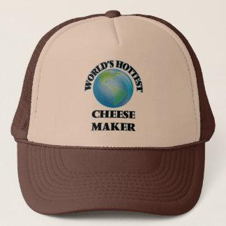 Boné O fabricante o mais quente do queijo do mundo