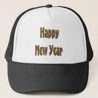 Boné o feliz ano novo