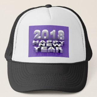 Boné O feliz ano novo 2018
