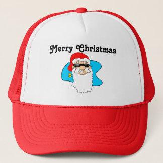 Boné O Feliz Natal refrigera o papai noel nos óculos de