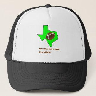 Boné O futebol em Texas é religião