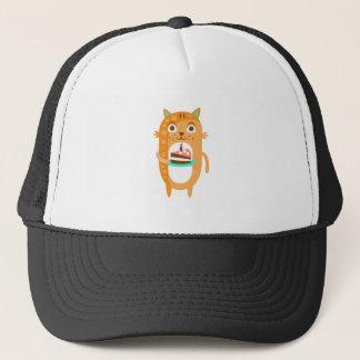 Boné O gato com partido atribui a WTI Funky estilizado