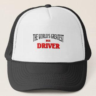Boné O grande condutor de autocarro do mundo