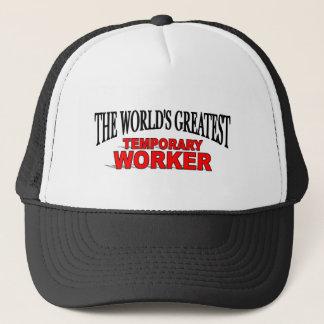 Boné O grande trabalhador temporário do mundo