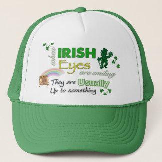 Boné O irlandês lunático Eyes o chapéu de Patricks da