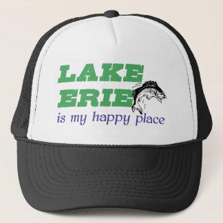 Boné O Lago Erie é meu lugar feliz