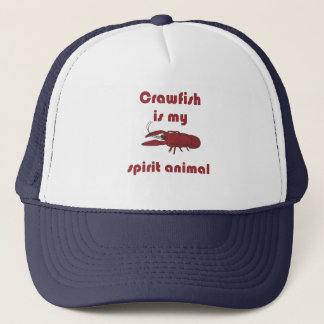 Boné O lagostim é meu chapéu engraçado animal de Cajun