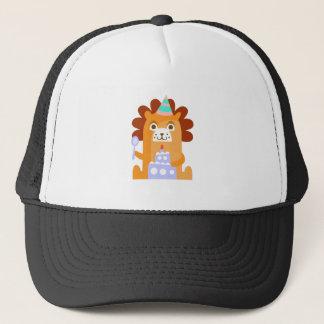 Boné O leão com partido atribui Funky estilizado