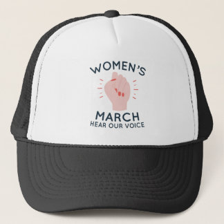 Boné O março das mulheres