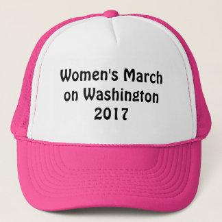 Boné O março das mulheres em Washington 2017