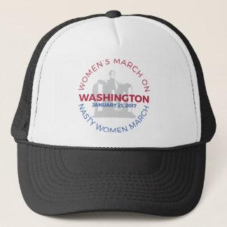 Boné O março das mulheres em Washington - mulher