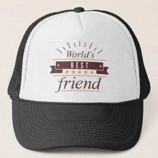 Boné O melhor amigo do mundo