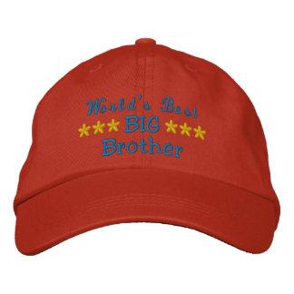 Boné O melhor big brother do mundo ou irmã ou pai etc.
