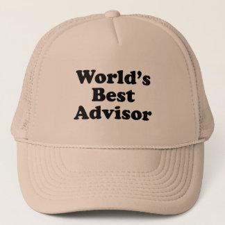 Boné O melhor conselheiro do mundo