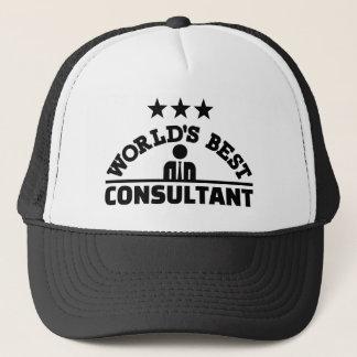 Boné O melhor consultante do mundo