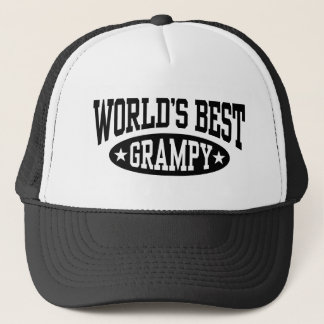 Boné O melhor Grampy do mundo