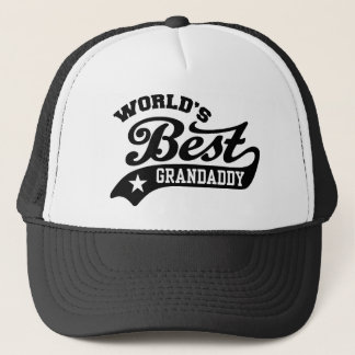 Boné O melhor Grandaddy do mundo nunca