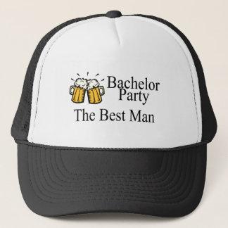 Boné O melhor homem do despedida de solteiro (cervejas)