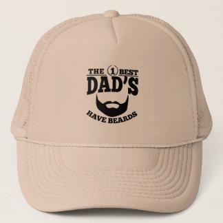Boné O melhor pai tem barbas