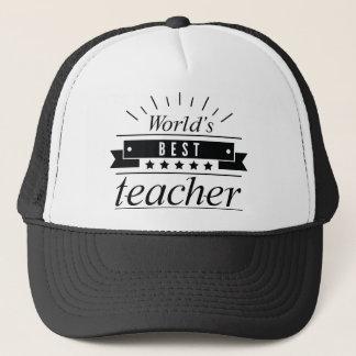 Boné O melhor professor do mundo