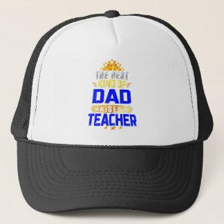 Boné O melhor tipo do pai aumenta um professor