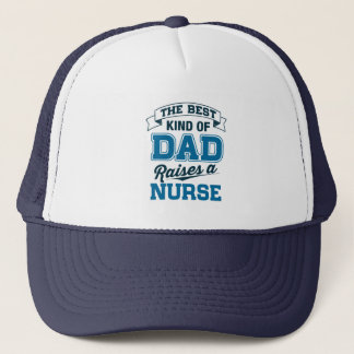 Boné O melhor tipo do pai aumenta uma enfermeira