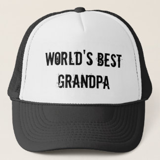 Boné O melhor vovô do mundo