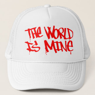 Boné O mundo é chapéu da mina