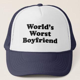Boné O namorado o mais mau do mundo