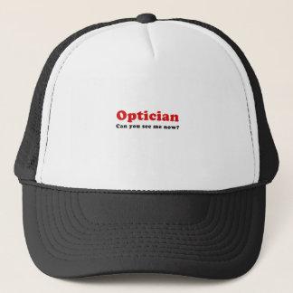 Boné O óptico pode você ver-me agora