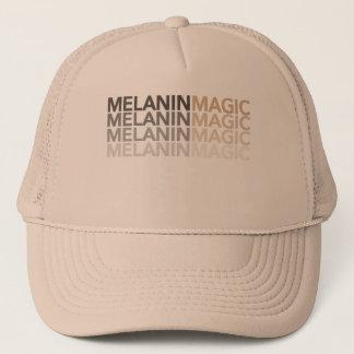 Boné O ouro é chique bonito da mágica da melanina