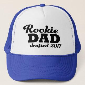 Boné O pai do recruta esboçou o chapéu engraçado do