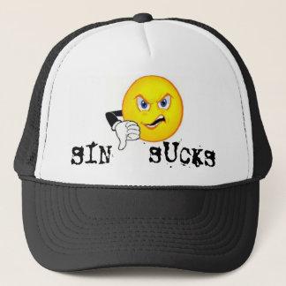 Boné O pecado suga o chapéu