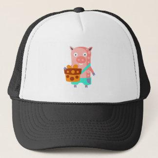 Boné O porco com partido atribui Funky estilizado