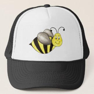 Boné O preto amarelo Bumble o zumbido do inseto do