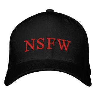 Boné O preto vermelho de NSFW QUENTE PERSONALIZA-O