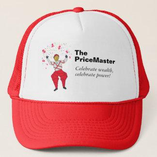 Boné O PriceMaster, comemora a riqueza & o poder