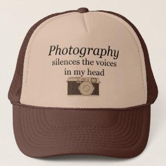 Boné o pstvimhPhotography silencia as vozes em minha