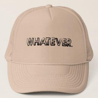 Boné O que chapéu