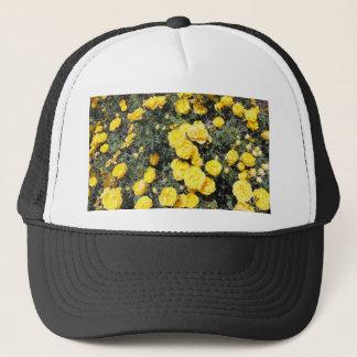 Boné O rosa amarelo ensolarado floresce o ônibus