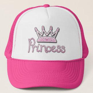 Boné O rosa bonito impresso peroliza a princesa Coroa