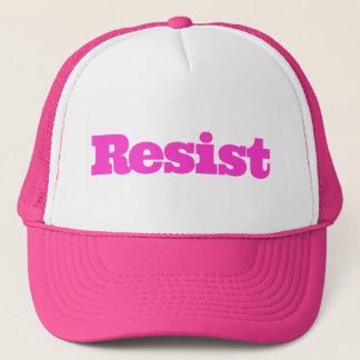 Boné O rosa resiste o chapéu