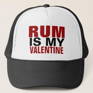 Boné O rum engraçado é meu anti dia dos namorados dos